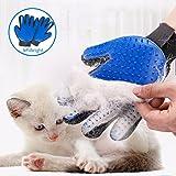STARROAD-TIM Pet Grooming Glove Hair Remover Brush Gentle Deshedding Efficient Pet Mitt Pet Massage Gloves Left & Right…