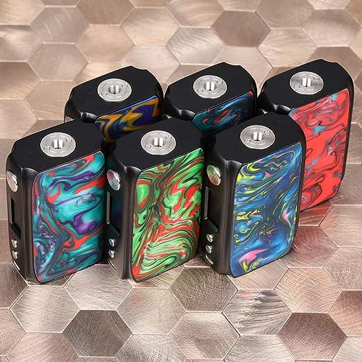 Cigarrillo electrónico IJOY Shogun Univ 180W TC MOD Conjunto de chips UNIV incorporado con paneles de resina de doble cara sin nicotina (B-Splendor): Amazon.es: Salud y cuidado personal