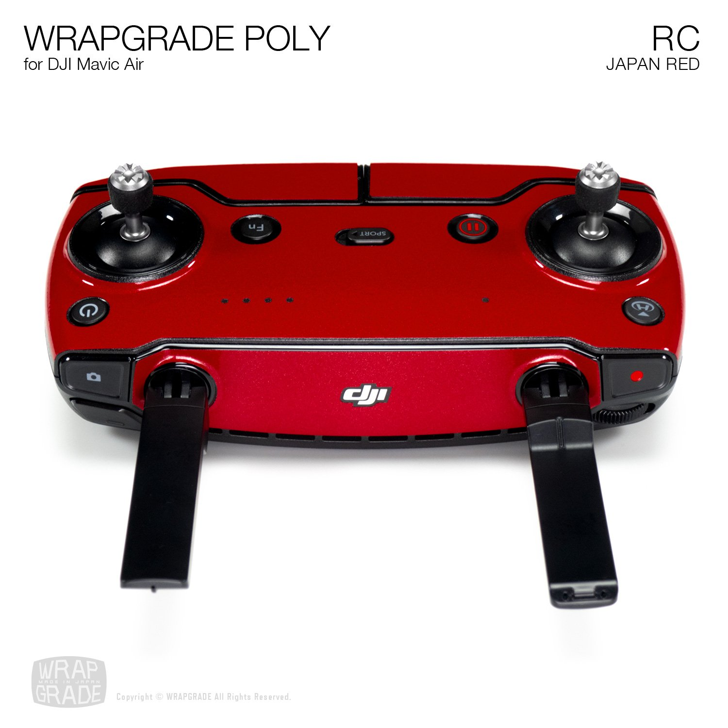Caribbean Blue Remote Controller Wrapgrade Poly Skin for DJI Mavic Air