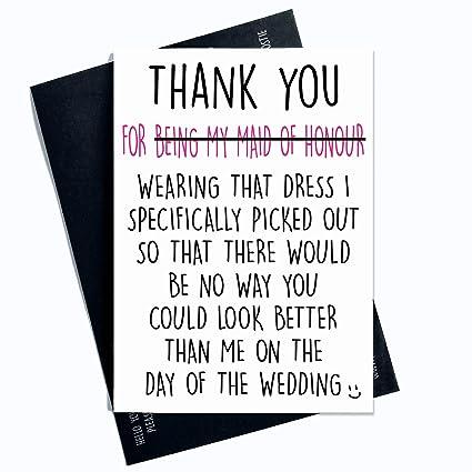 Divertida tarjeta de agradecimiento por ser mi madre de ...