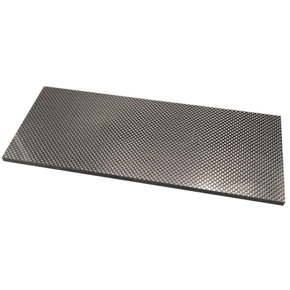 200X300X1.0MM 100/% 3K Plain Weave Carbon Fiber Sheet Laminate Plate Panel
