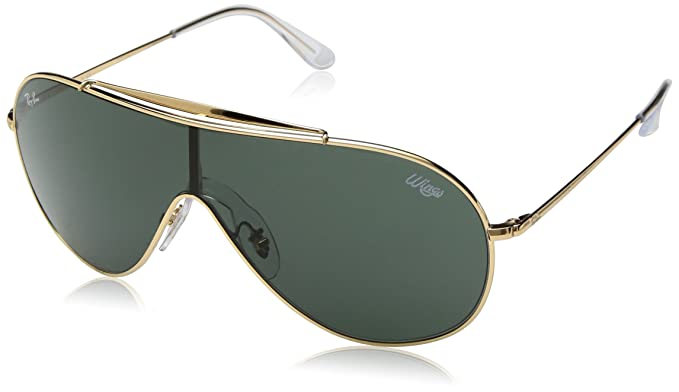 1fb09974b928 Amazon.com: Ray-Ban 0rb3597 Non-Polarized Iridium Aviator Sunglasses,  Black, 0 mm: Clothing