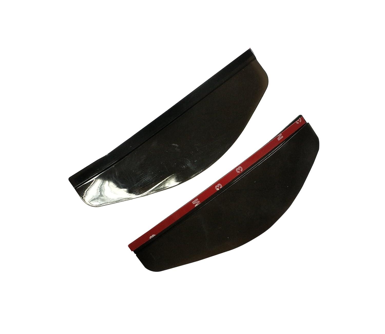Noir CERRXIAN Car R/étroviseur Universel Noir Sideview Mirror Couverture de Protection Pluie 2 pi/èces