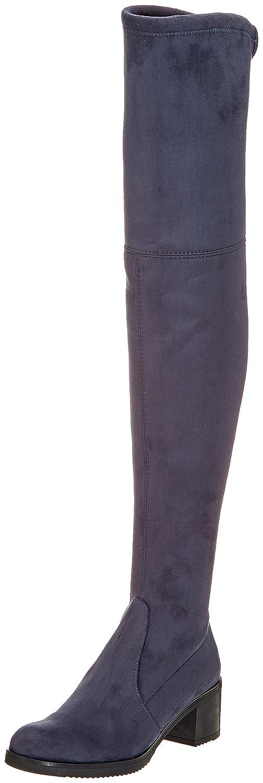 Buffalo London 2865 Micro Strech, Botas para Mujer40 EU|Gris (Antracite 01)