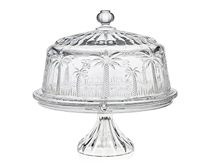 Godinger Silver Art Palm Cake Plate 4 in 1  sc 1 st  Amazon.com & Amazon.com   Godinger Silver Art Palm Cake Plate 4 in 1: Cake Stands