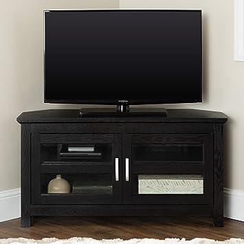 Amazon.com: Consola de soporte para televisor para esquina ...