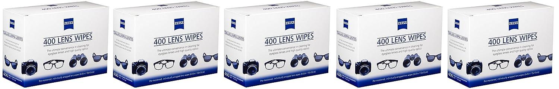 Zeiss - Toallitas húmedas para lentes, 400 unidades (lote de 3): Amazon.es: Hogar
