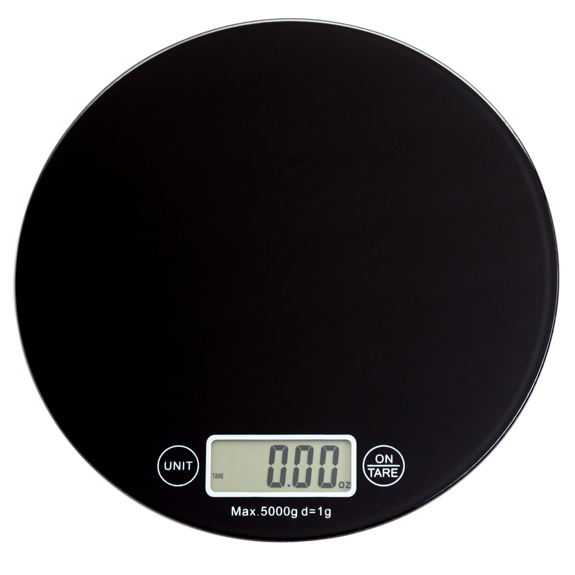 Digital Multifunction Kitchen and Food Scale, Elegant Black