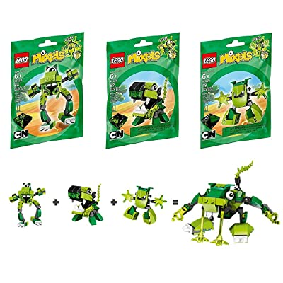 LEGO Mixels Series 3: Green Collection 5003814: Toys & Games