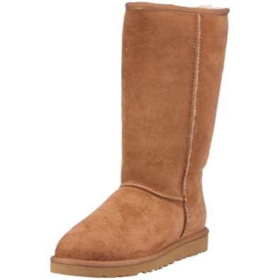 UGG Women's Classic Tall Chestnut 5 B - Medium