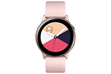 Samsung - Montre Galaxy Watch Active - Rose Poudré - Version Française