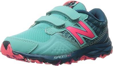 New Balance Ke690v2 - Zapatillas de Running para niña Verde/Rosa ...