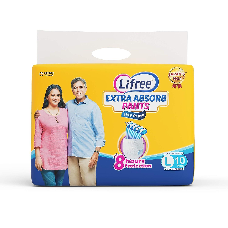Lifree Large Size Diaper Pants - 10 Count