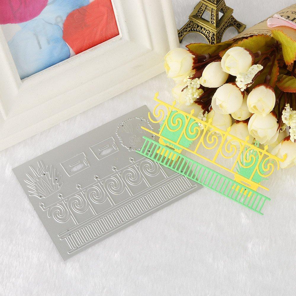 Stanzb/ögen Blume Metall Stanzformen Schablonen DIY Scrapbooking Album Papier Karte Handwerk A K/üche Haushalt Wohnen Basteln Malen N/ähen Scrapbooking