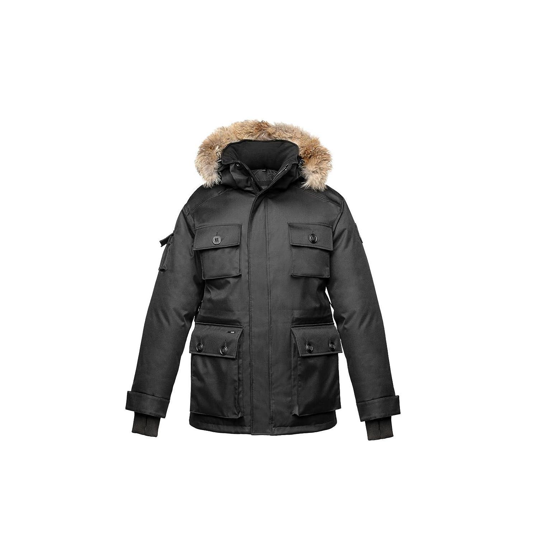 00e4b3d3e45d Nobis Barry Crosshatch Black X-Small at Amazon Men s Clothing store