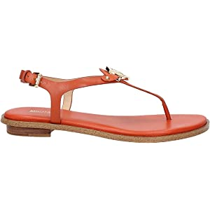 6a509dd29 Michael Kors Alice Soft Pink Leather Padlock Sandals 41 Pink Leather ...