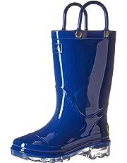 Western Chief Unisex Waterproof PVC Light-Up Rain Boot