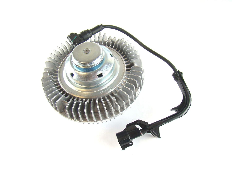 OAW 12-F3262 Electronic Cooling Fan Clutch for 03-07 Ford F250 F350 F450 F550 Super Duty 6.0L Powerstroke Turbo Diesel
