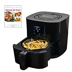 Avalon Bay Digital Air Fryer with Stainless Steel Basket