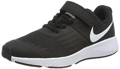 size 40 07f49 55adb Nike Jungen Star Runner (PSV) Laufschuhe, Schwarz (Black White Volt