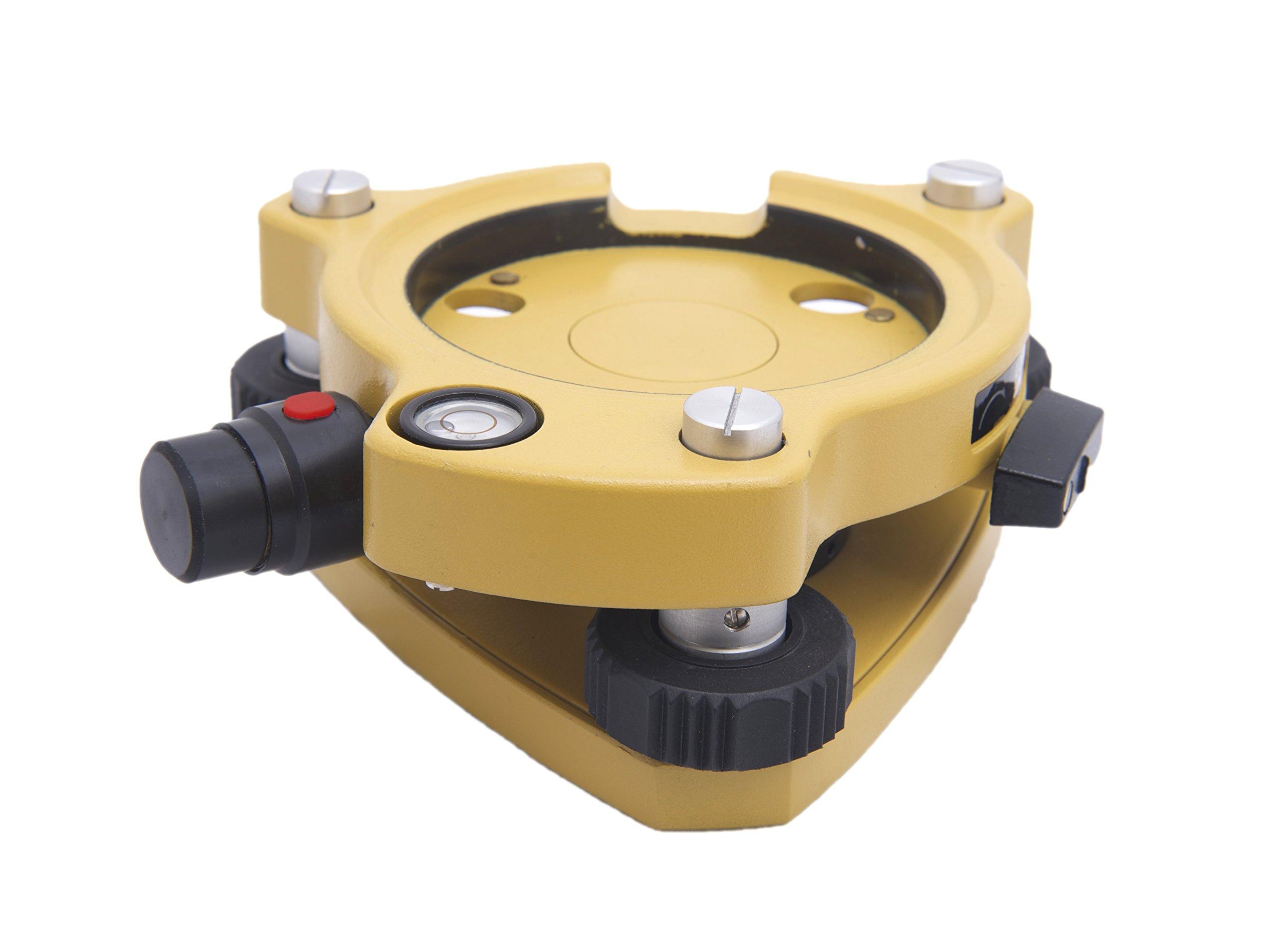 AdirPro Tribrach with Laser Plummet (Yellow)