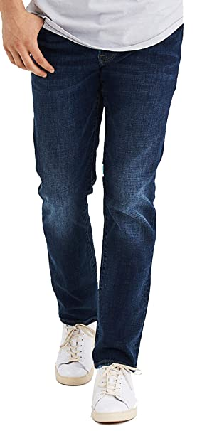 Amazon.com: American Eagle - Pantalones vaqueros rectos para ...