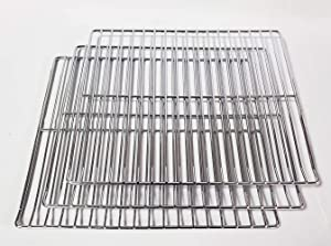 Unifit Cooking Grate Jerky Rack Replacement Parts for Masterbuilt 30 inch Electric Smoker (Cooking Rack 3 PC)