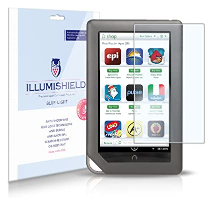 Amazoncom Illumishield Barnes Noble Nook Color 7 Hd Blue