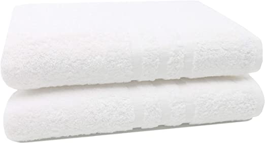 ZOLLNER 2 Toallas de baño Grandes 100% algodón, 100x150 cm ...
