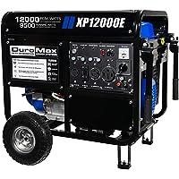 DuroMax XP12000E 12000W Portable Gas Electric Start