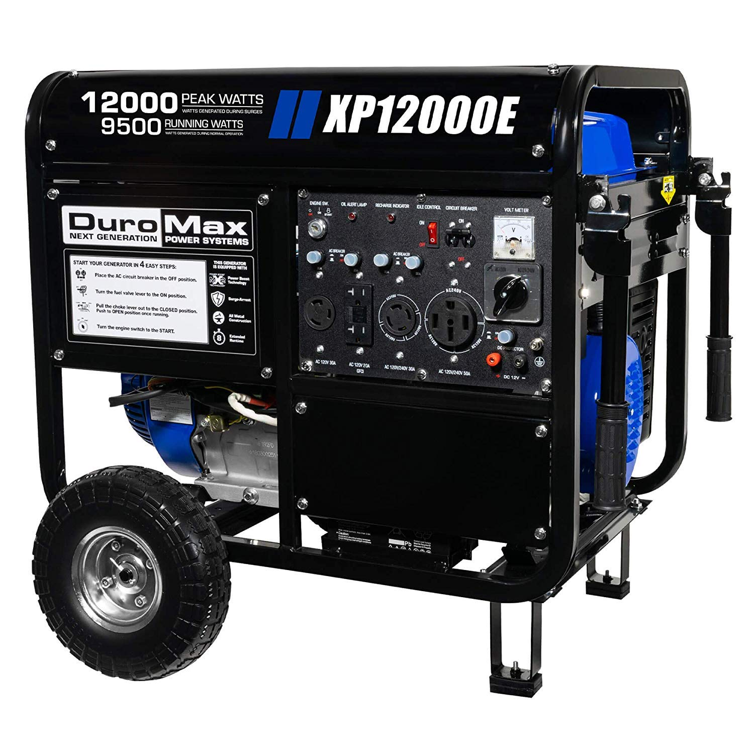 Duromax XP12000E Gas Powered 12000 Watt Electric Start