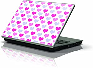 "Skinit Protective Skin (Fits Latest Generic 10"" Laptop/Netbook/Notebook); Pink Pashion Hearts"