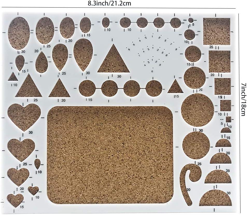 manualidades de papel DIY 29 Pcs Quilling kit para arte quilling 20 Piezas Herramientas de Filigranas de Papel de Tiras con 900 Tiras de Papel de 40 colores de 5x390mm