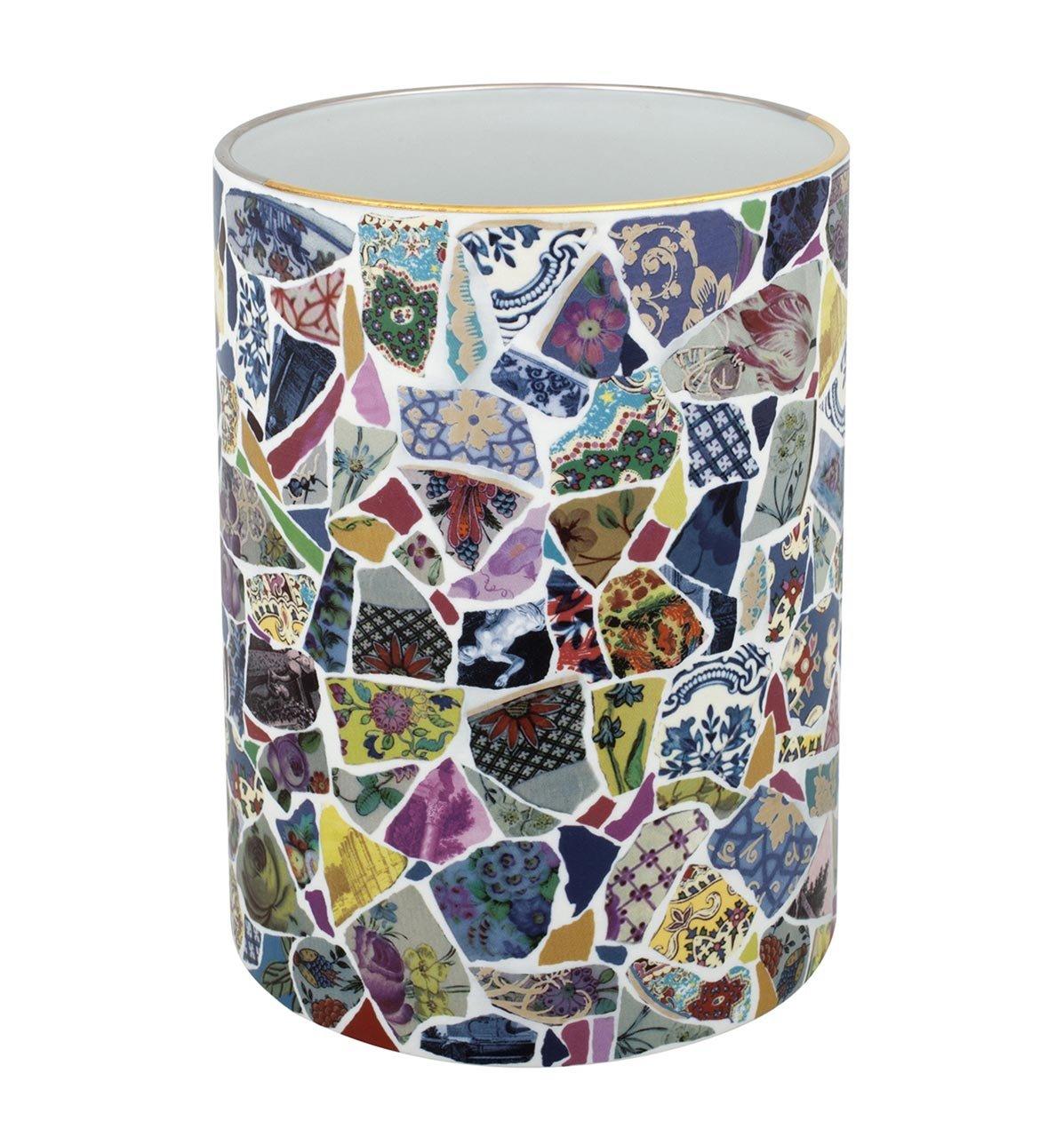 VISTA ALEGRE - Picassiette by Christian Lacroix (Ref # 21117756) Porcelain Vase by Unknown