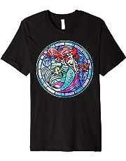 Disney The Little Mermaid Ariel Glass Window Graphic T-Shirt