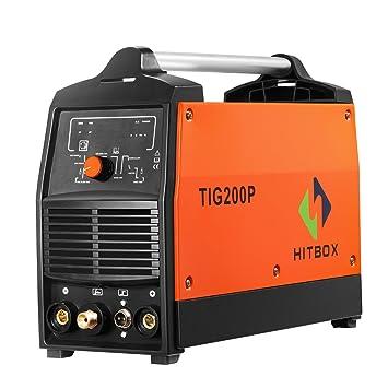 200A Inversor TIG Soldador Pulso Digital de Alta Frecuencia TIG Soldadora MMA Stick Mosfet 60% D/C Soldadora Máquina Control Digital: Amazon.es: Bricolaje y ...