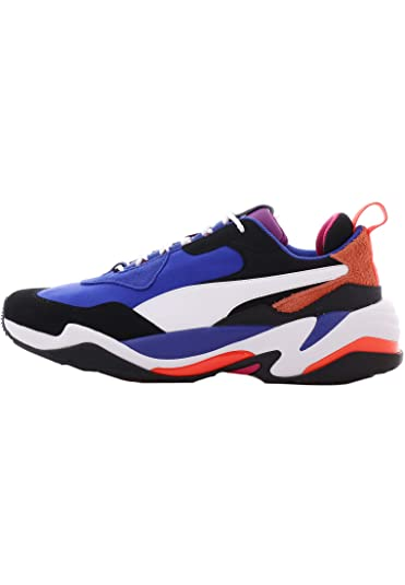 super popular a4964 83e72 PUMA Men s Shoes Thunder 4 Life Blue White Sneaker Fall Winter 2019