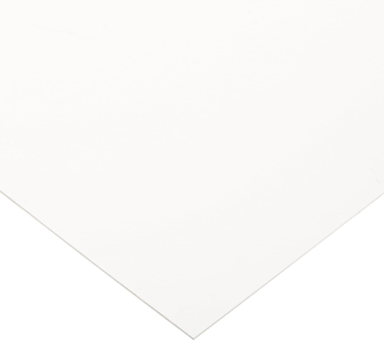 "Expanded PVC Sheet 3mm x 24/"" x 48/"" White"