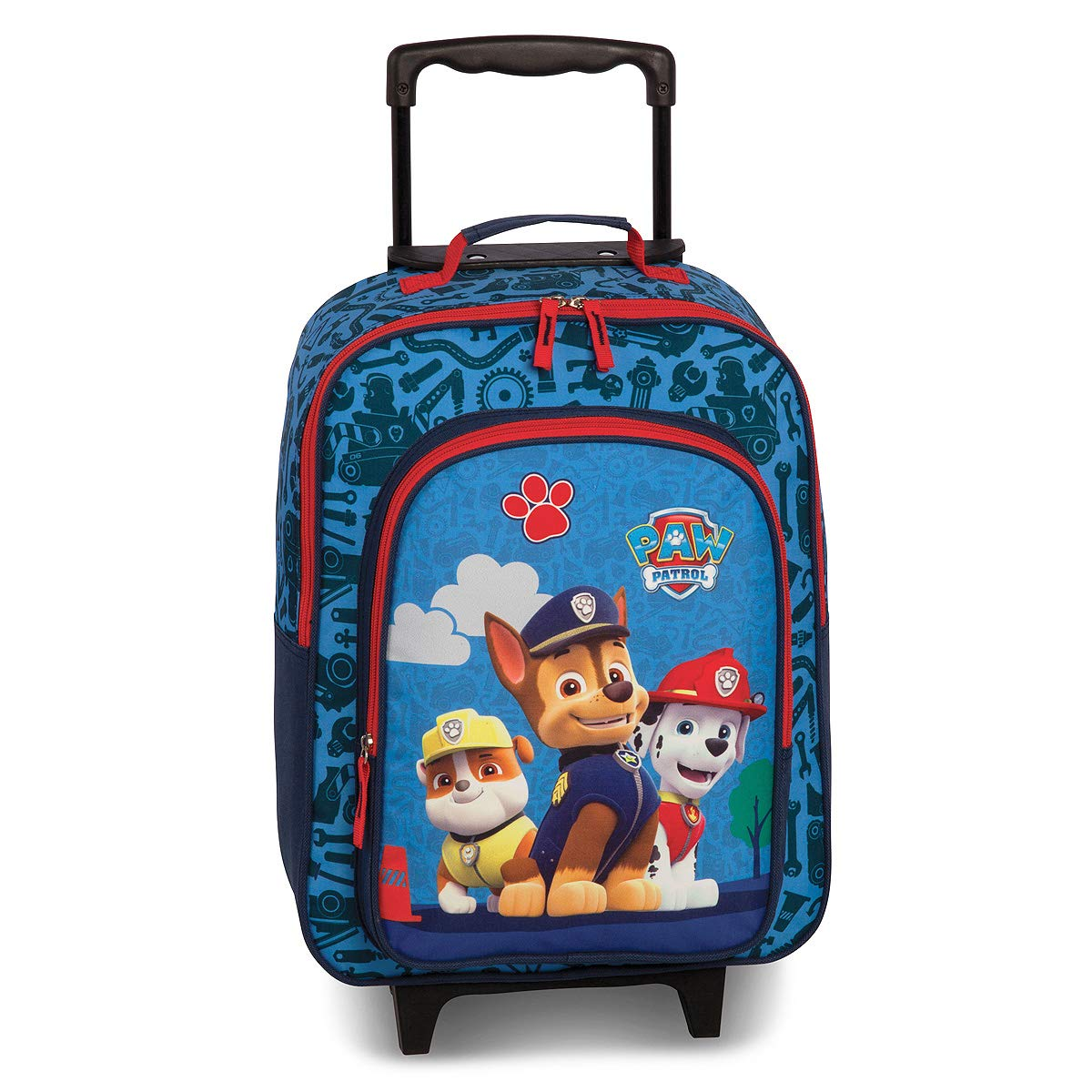 Fabrizio Viacom PAW Patrol Kindertrolley Kabinen Kinderkoffer Kindergep/äck 20579-0600