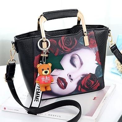 d32d6e38d6ad Amazon.com: Bag female Korean version of the autumn and winter tide ...