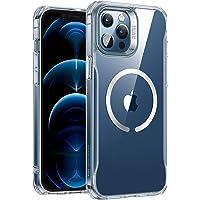 """ESR Funda Compatible con iPhone 12 Pro MAX 6.7"""", Magnética Carcasa Compatible con MagSafe y Carga inalámbrica, Funda HD…"""