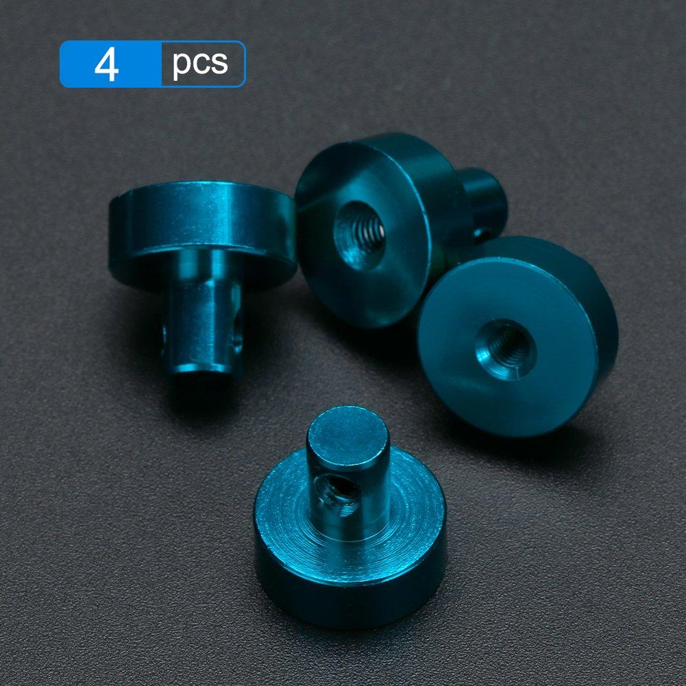 Domybest 4pcs Invisible Magn/ético Cuerpo Post Mount para 1//10 AXIAL SCX10 4WD RC Coche azul azul