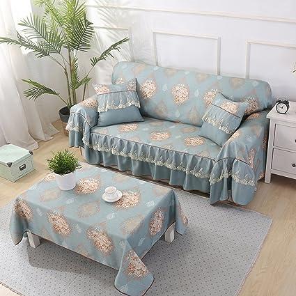 Amazon.com: JIEJING Sofa Covers,Living Room Simple Modern Sofa ...