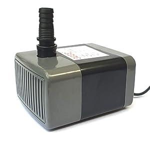amiciKart AK-SMPP-3G-18 18W Submersible Pump for Desert Air Cooler (Grey)