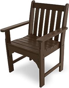 POLYWOOD GNB24MA Vineyard Garden Arm Chair, Mahogany