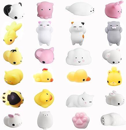 Amaza 24pcs Squishys Kawaii Squishy Juguetes Squishies Animales Slow Rrising Squeeze Kids Toy Gift (Multicolor): Amazon.es: Hogar