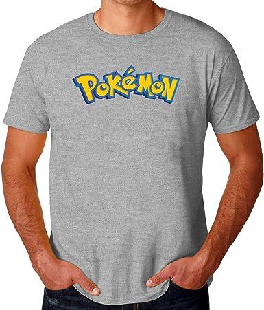 Pokemon Logo Graphics Camiseta para Hombres: Amazon.es: Ropa y accesorios