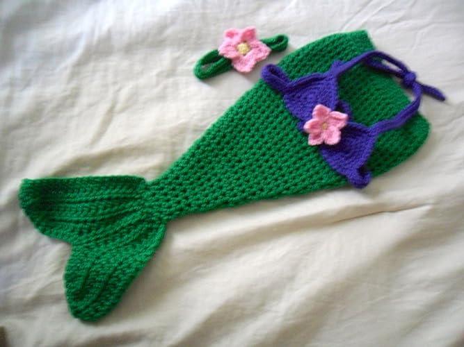 Amazoncom Baby Mermaid Costume Baby Mermaid Outfit Baby