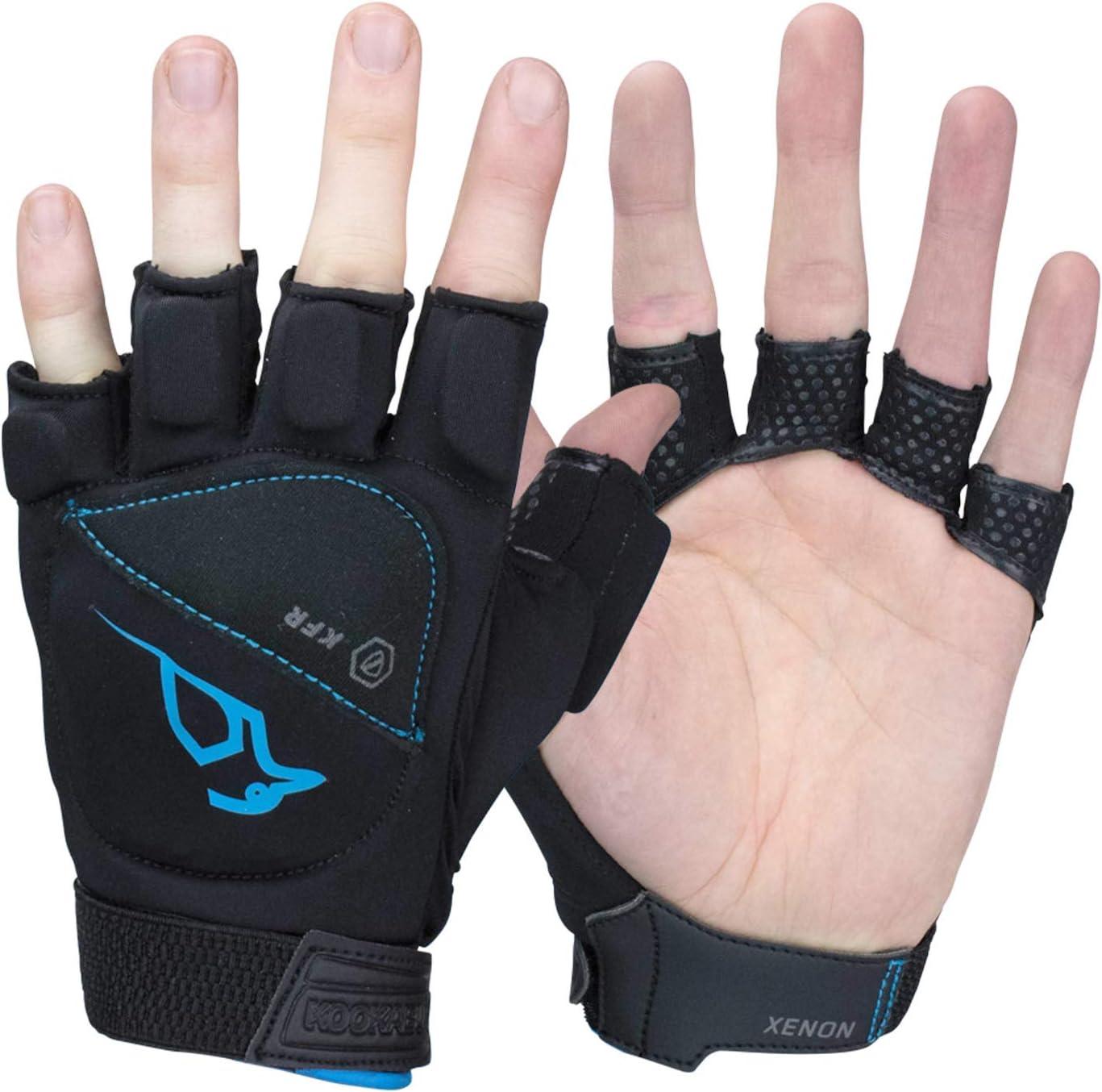 Black KOOKABURRA Unisexs Xenon Hockey Handguards Medium Left Hand
