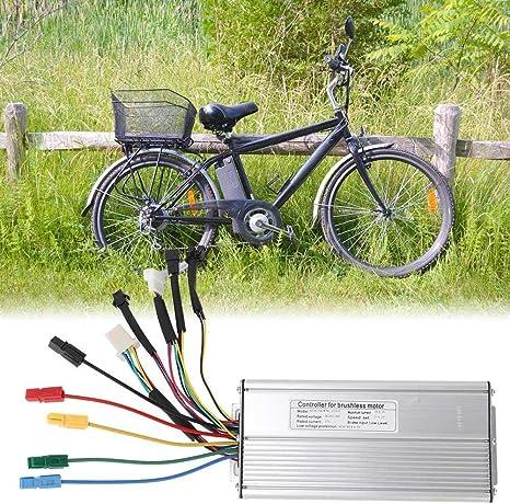 Bnineteenteam Controlador de Motor para Bicicleta, 12 Controlador ...